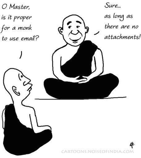 Can Monks Use Email?